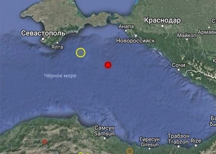 2b9851d083bd На Кубани в Черном море произошло землетрясение