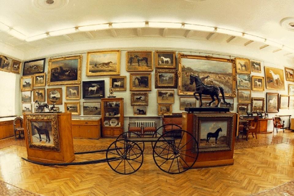 Научно-художественный музей коневодства гордится своей уникальной коллекцией живописи художников XIX века. Фото: timacad.ru