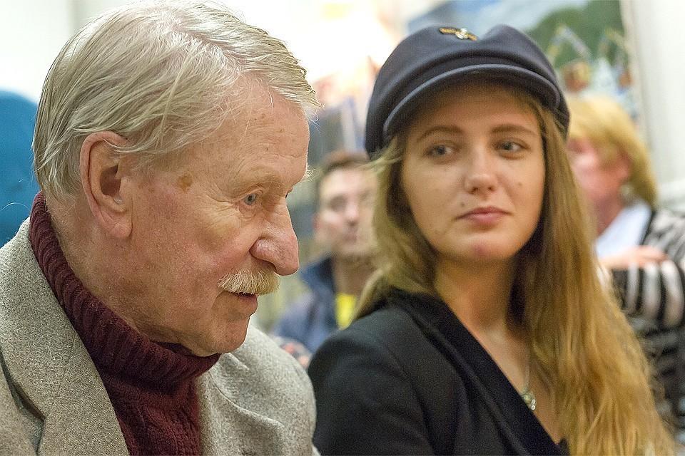 Из-за 87-летнего Ивана Краско подрались молодая жена и любовница