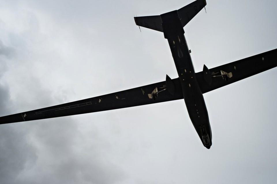 Дальний тяжелый беспилотник ВВС США RQ-4A Global Hawk