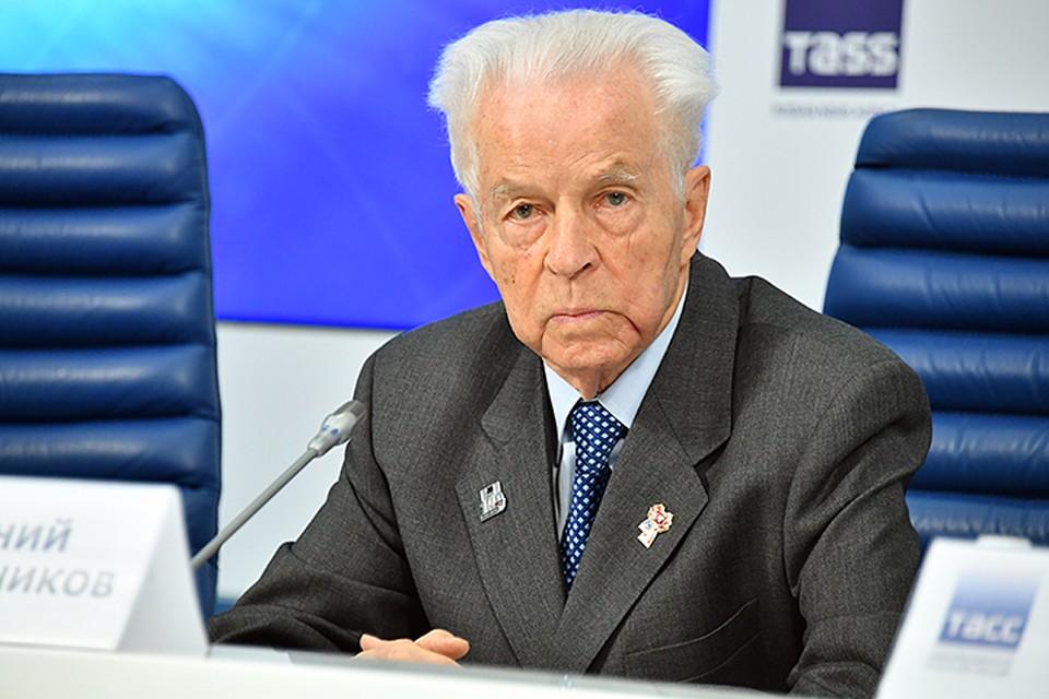 Экс-секретарь ЦК ВЛКСМ Евгений Тяжельников