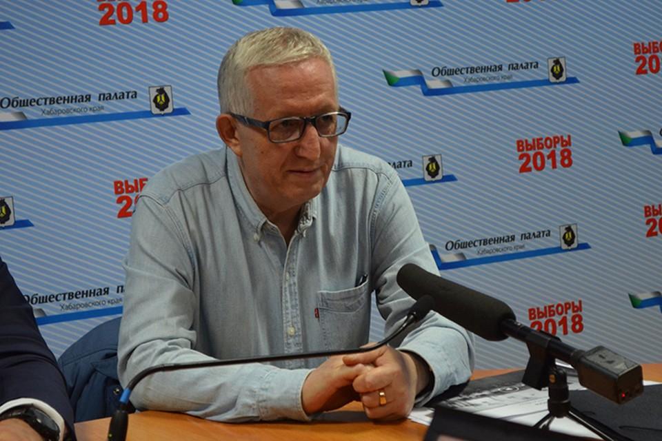 Илдус Ярулин пообщался с журналистами после закрытия избирательных участков.