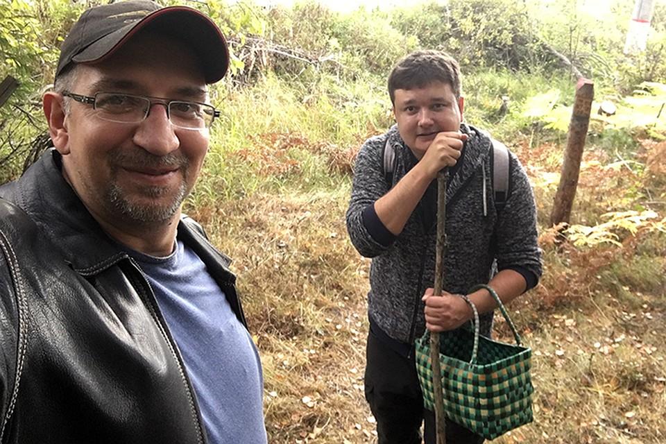 Павел Клоков и Михаил Антонов отправились на поиски грибов