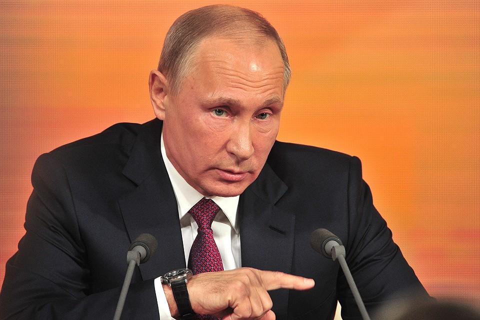 Президент РФ Владимир Путин. Фото: Киселев-Сергей-АГН-Москва