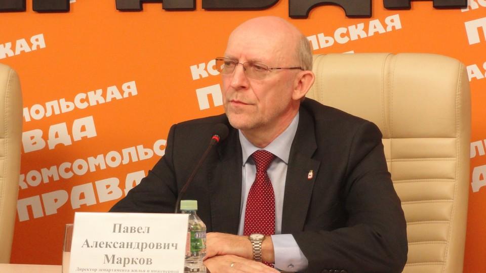 директор департамента жилья и инженерной инфраструктуры администрации Нижнего Новгорода Павел Марков
