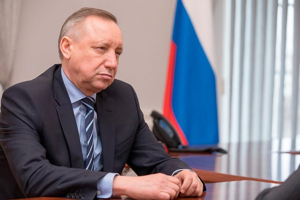 Врио губернатора Беглов: Начинаем работу с чистого листа. Из Москвы никого не привезу