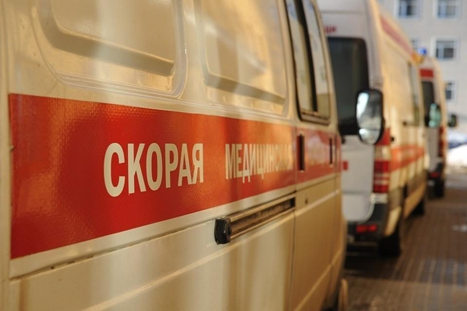 В Москве в результате обрушения строительных лесов пострадали 8 человек