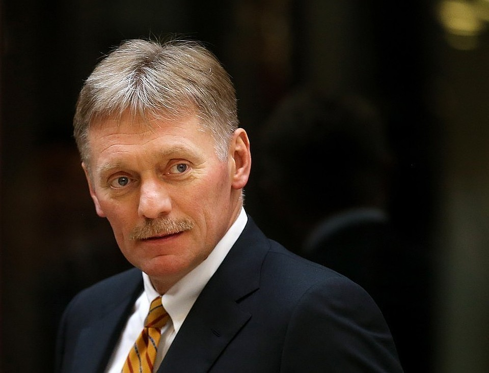 Пресс-секретарь президента РФ Дмитрий Песков. Фото: Валерий Шарифулин ТАСС