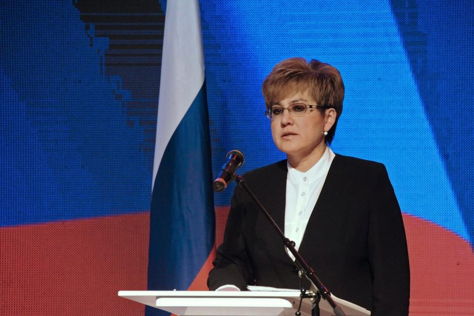Наталья Жданова. Фото: Пресс-служба губернатора Забайкальского края ТАСС