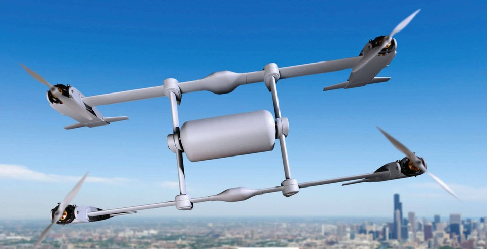 Проект аппарата компании Bell Helicopter Textro.