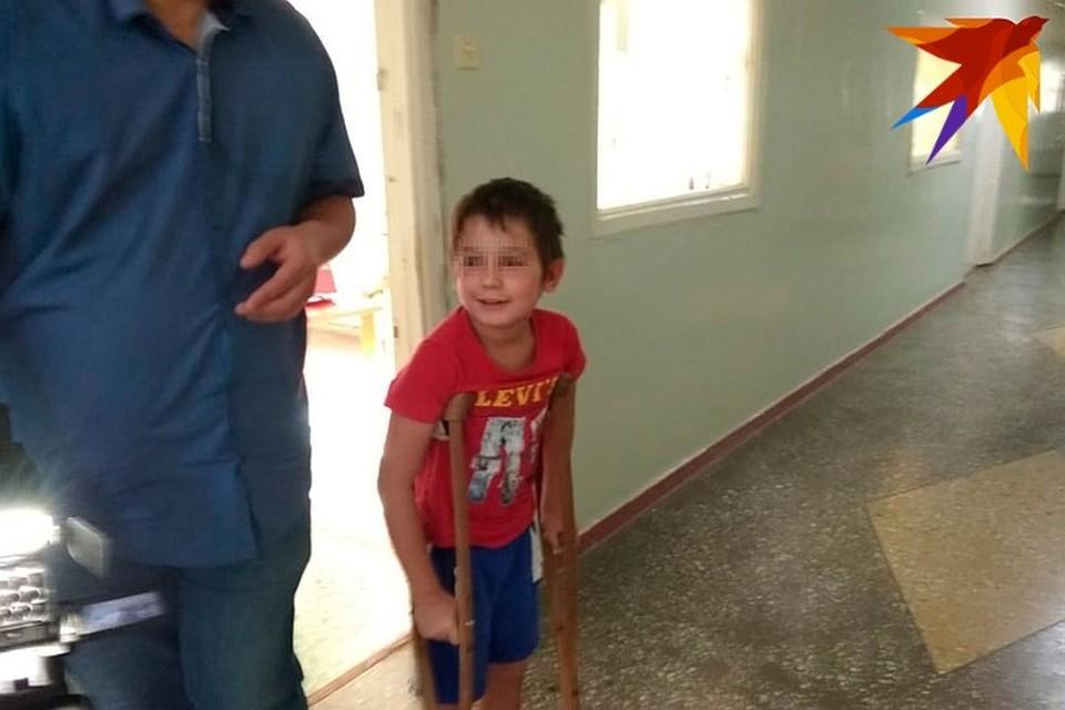 Первым в больницу попал 9-летний Ваня.