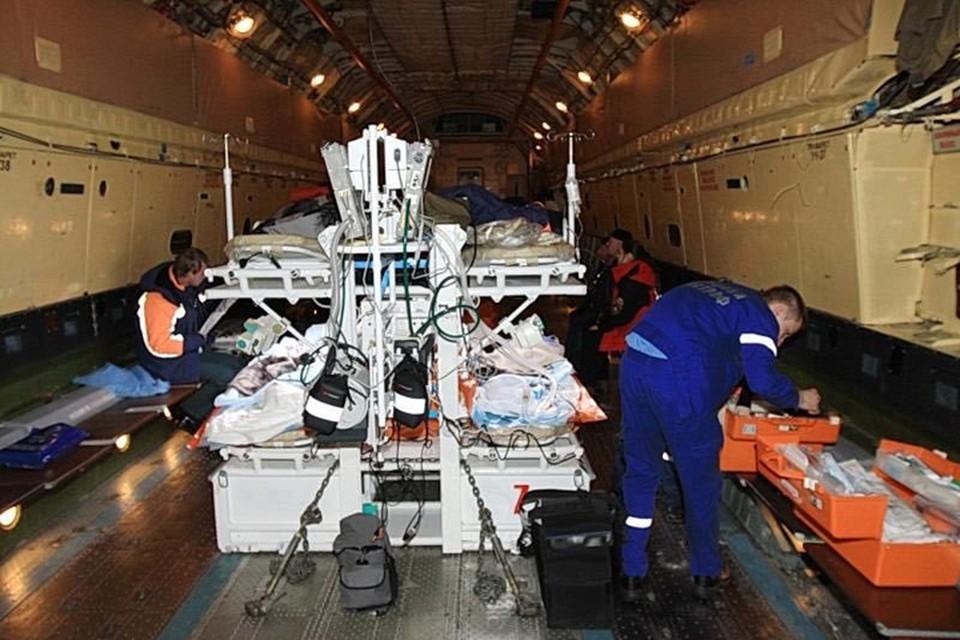 34 человека с ранениями разной тяжести были госпитализированы. Фото: Минздрав РФ