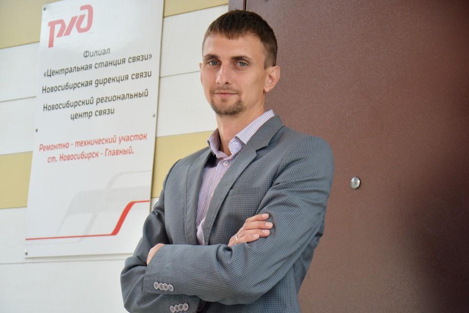 Валерий Польянов главный на своем участке по связи.