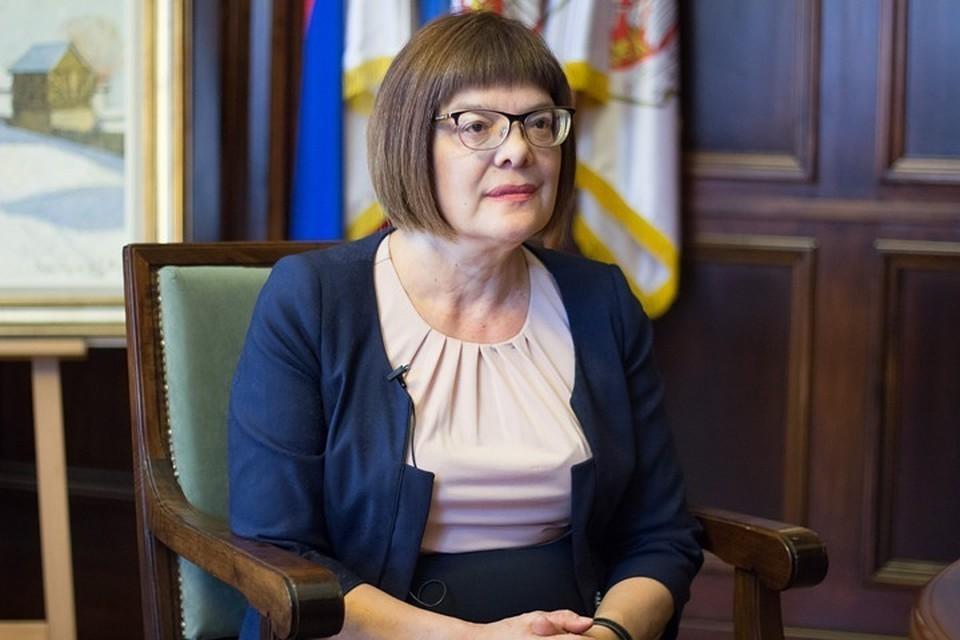 Председатель сербского парламента Майя Гойкович