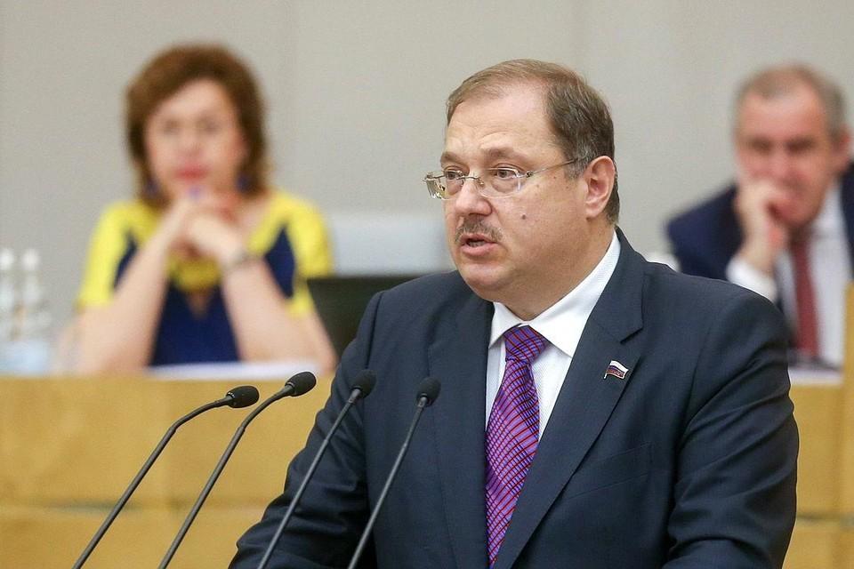 Глава Брянского регионального отделения ЛДПР Борис Пайкин является одним из авторов инициативы