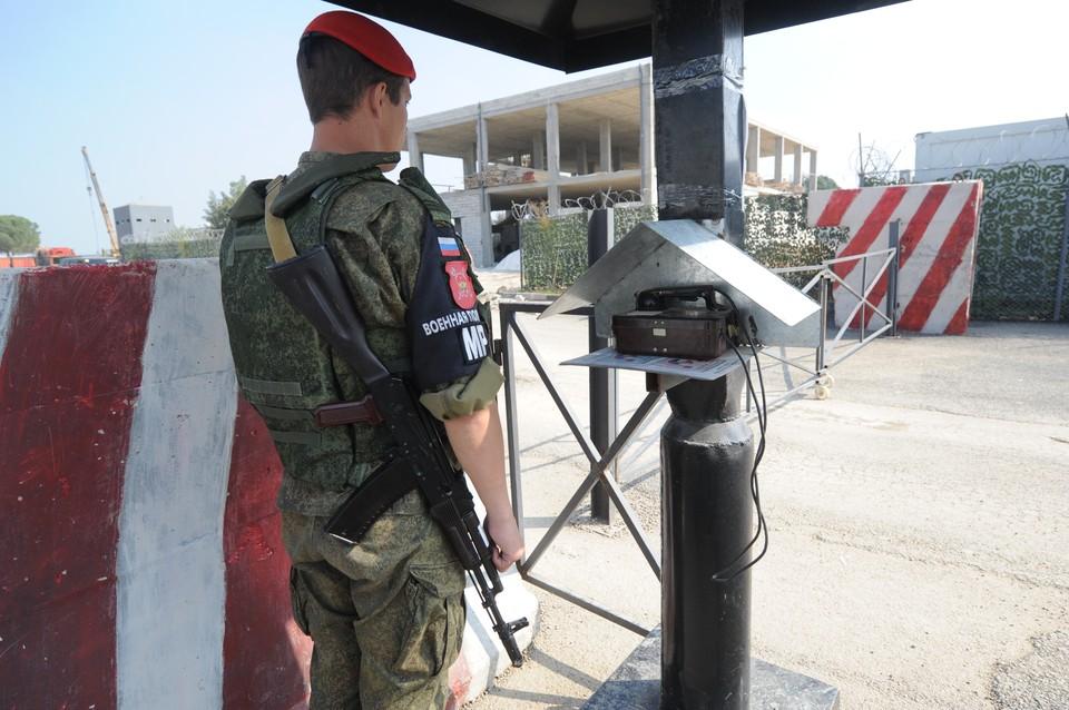Военные РФ обеспечили безопасность миссии ООН в районе Голанских высот
