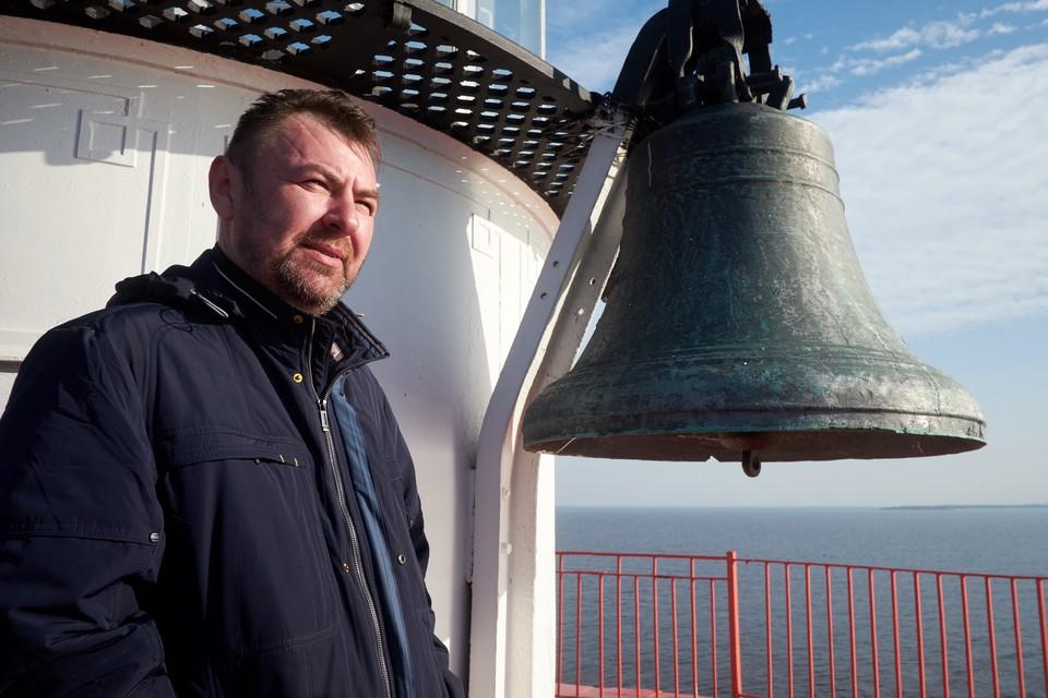 Капитан второго ранга Дмитрий Масько и его супруга Юлия отправились на маяк в поисках тишины и спокойствия