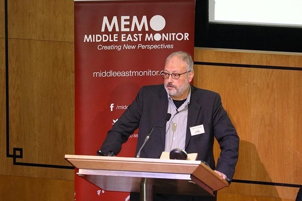 Саудовский журналист Джамал Хашкаджи