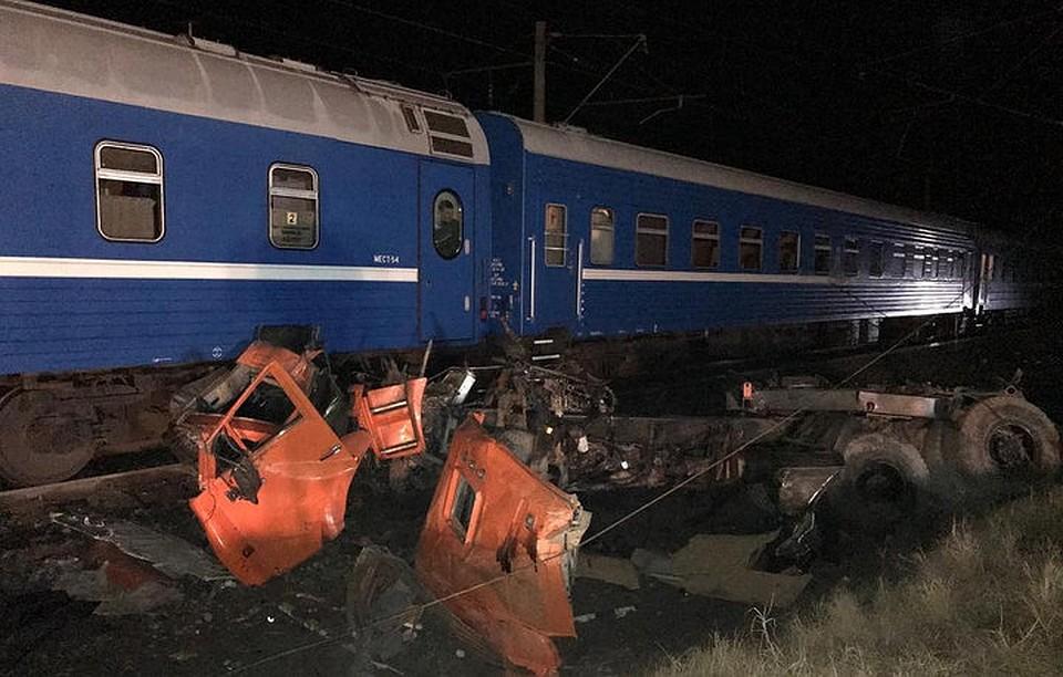 Новости самара камаз попал под поезд