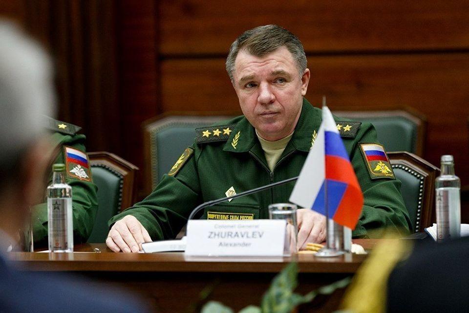 Генерал-полковник Александр Журавлев