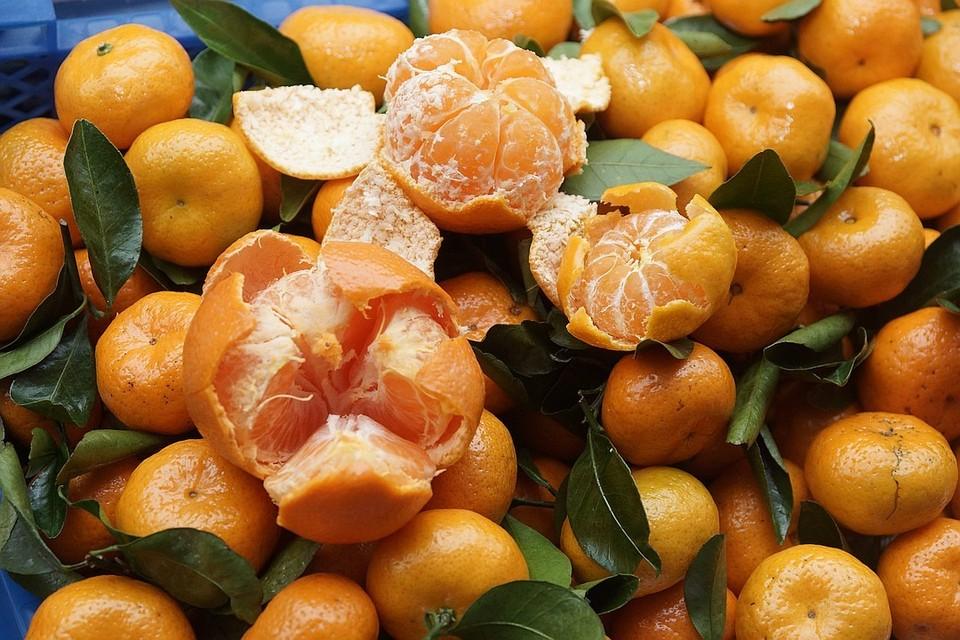 Южная Корея подарила Северной Корее 200 тонн мандаринов