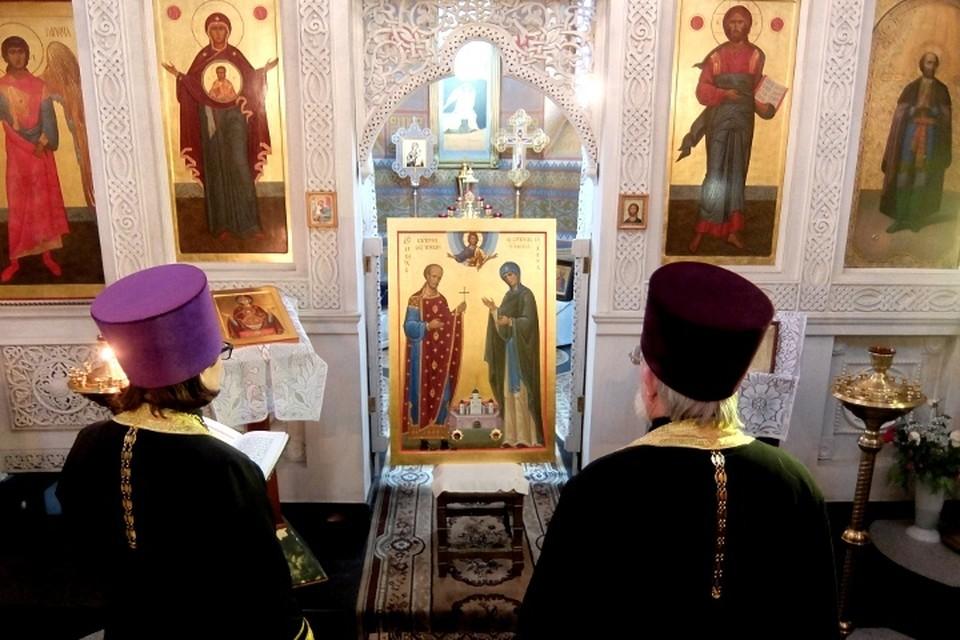 Икону освятили в храме Михаила Тверского Твери. Фото: из архива Романа Манилова