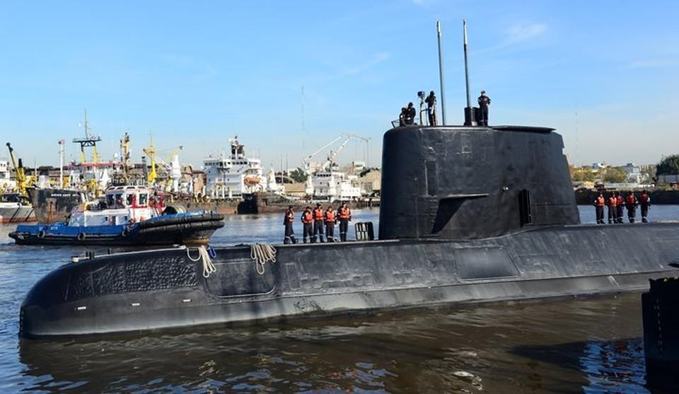 """По морякам подлодки """"Сан Хуан"""" в Аргентине объявят траур"""