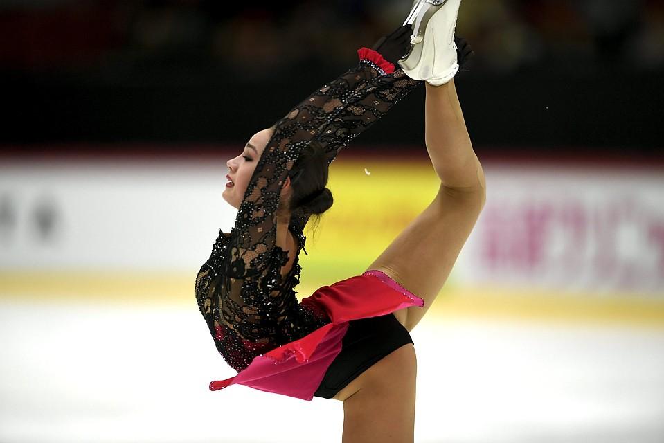 Российская фигуристка, олимпийская чемпионка Алина Загитова