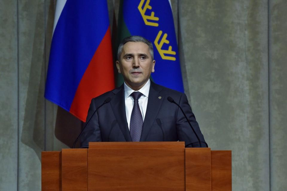 Губернатор Тюменской области Александр Моор. Фото: пресс-служба губернатора Тюменской области