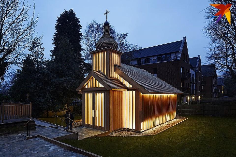Белорусская часовня в Лондоне спроектирована как энергоэффективное здание. Фото: Joakim Borén