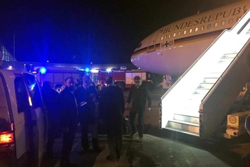 Airbus А340 «Конрад Аденауэр», который должен был доставить Ангелу Меркель в Аргентину, совершил вынужденную посадку в аэропорту Кельна