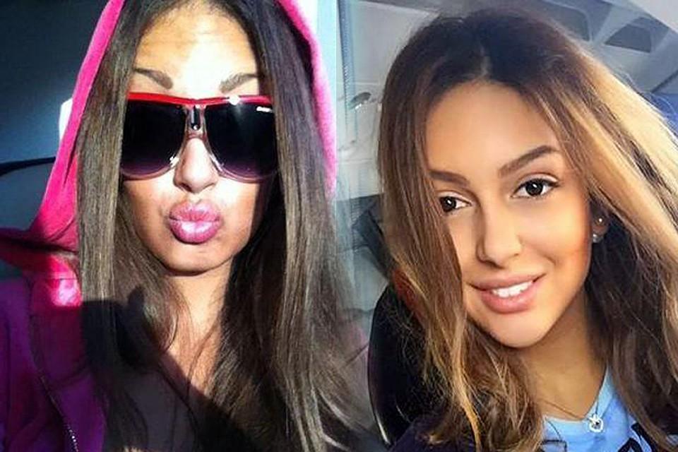 В случае Оксаны на фото до и после абсолютно точно один человек