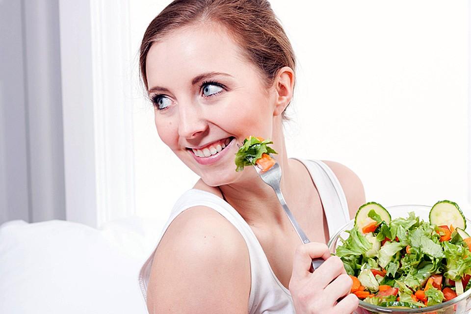 снизить вес за месяц съедает