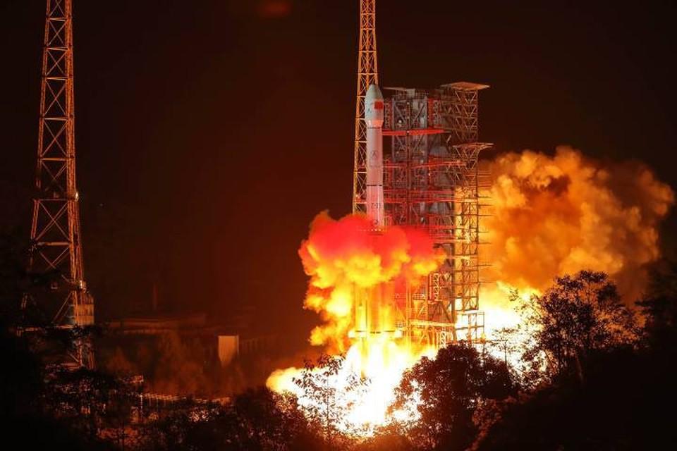 Запуск был осуществлен с космодрома Сичан при помощи ракеты-носителя «Чанчжэн-3В»