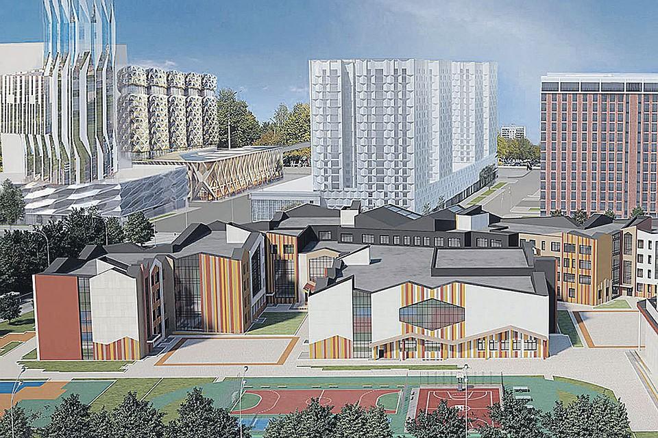Новые образовательные проекты Москвы  школа с «кванториумом» на ЗИЛе,  детсады-трансформеры и центр самбо в «Лужниках» d9bdb253b94