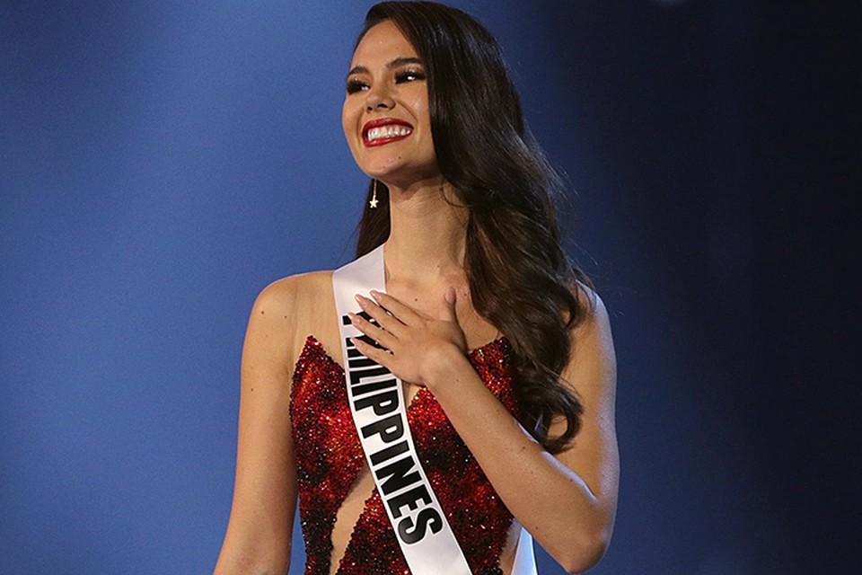 «Мисс Вселенной-2018» стала представительницах Филиппин Катриона Грэй