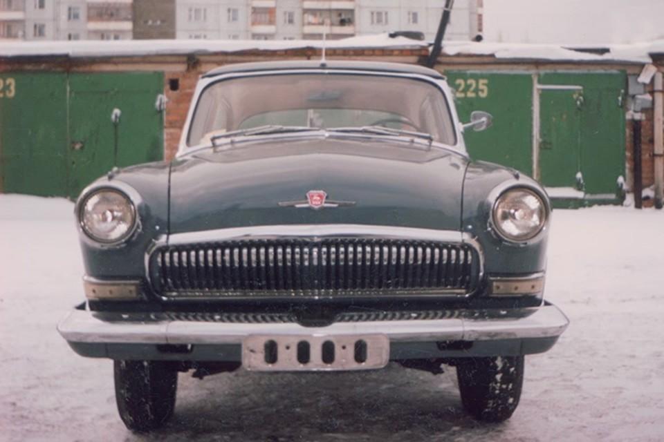 Волга из «Берегись автомобиля»