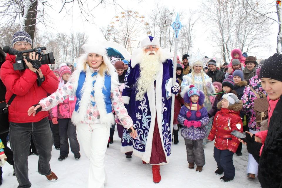 Встречайте Деда Мороза уже на днях!