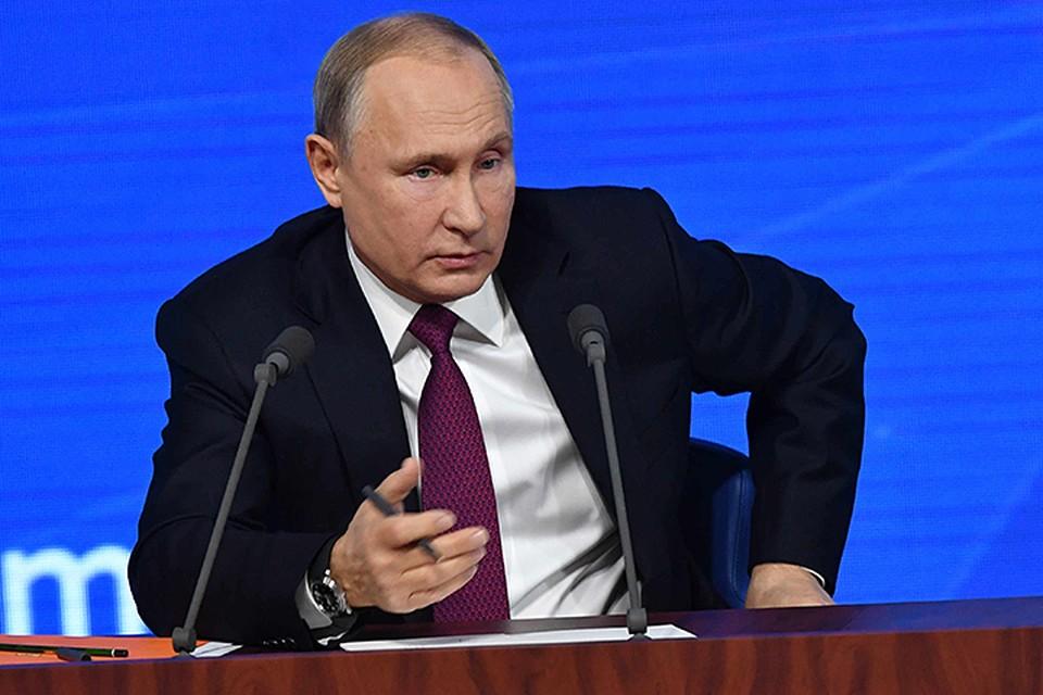 Путин пообещал вернуть российских детей из Сирии
