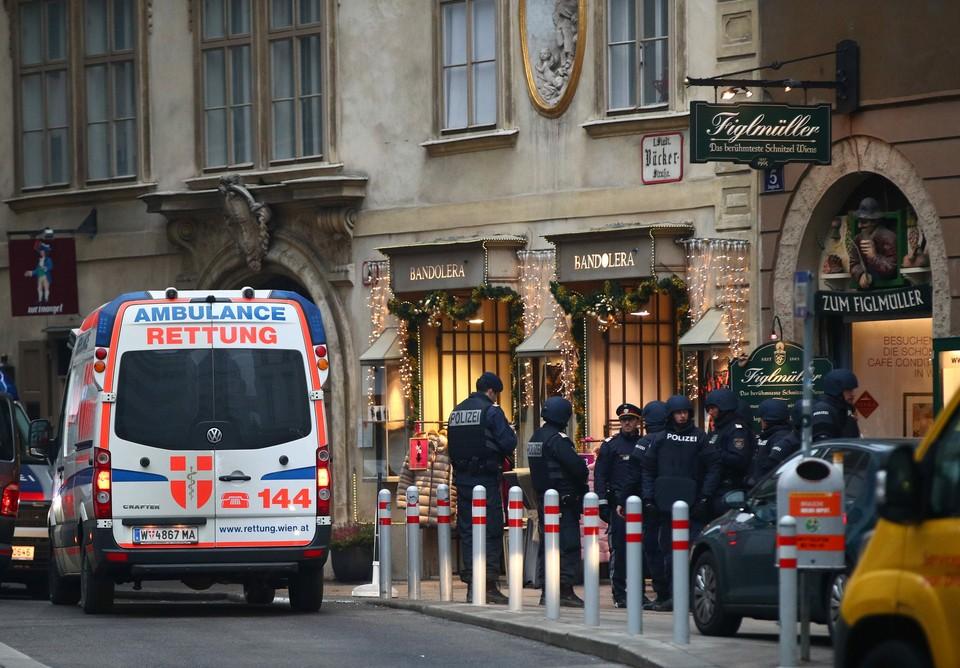 Полиция Вены задержала подозреваемого в стрельбе в центре города
