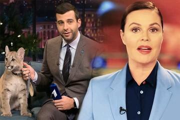 Опрос «КП»: Ургант и Андреева — лучшие телеведущие 2018 года