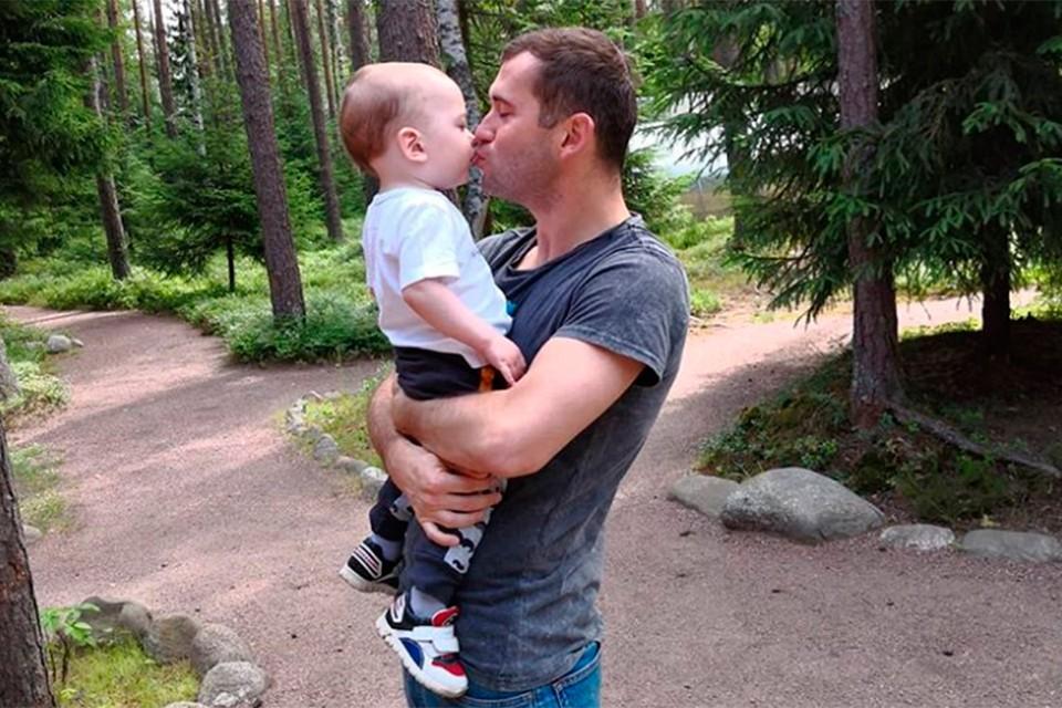 У Александра Кержакова забрали сына.