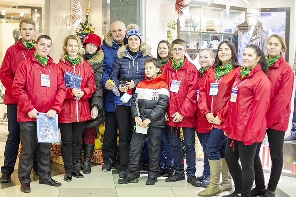 8cebf0e7d496 Семья Цивилевых исполнила новогодние мечты детей из детдома