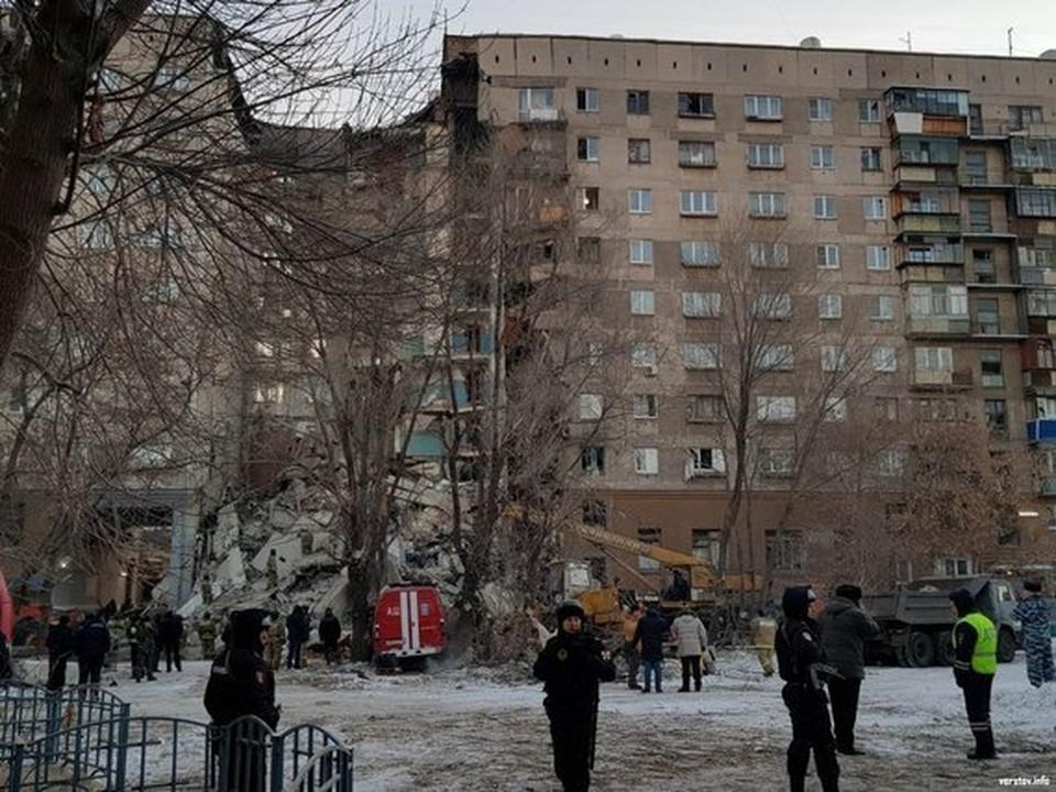 На месте взрыва продолжается разбор завалов Фото: соцсети