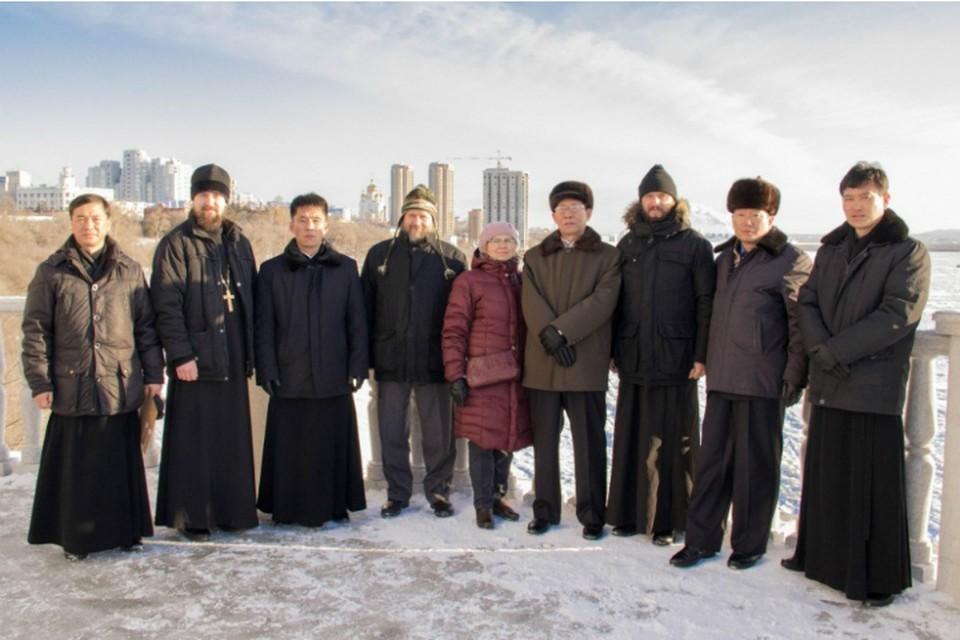 Православные жители КНДР вспомнили о визите Ким Чен Ира в Хабаровск в 2001 году ФОТО: Алексей Скуридин