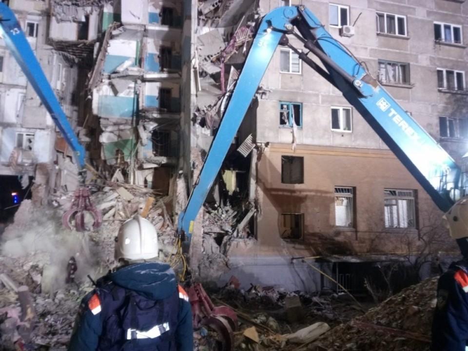 Поиск людей под завалами окончен. Фото: МЧС.