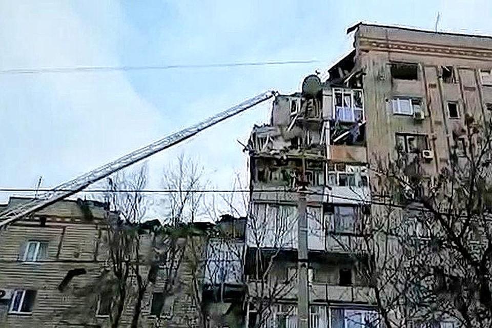 В Ростовской области произошел взрыв бытового газа: один человек погиб, семь спасены