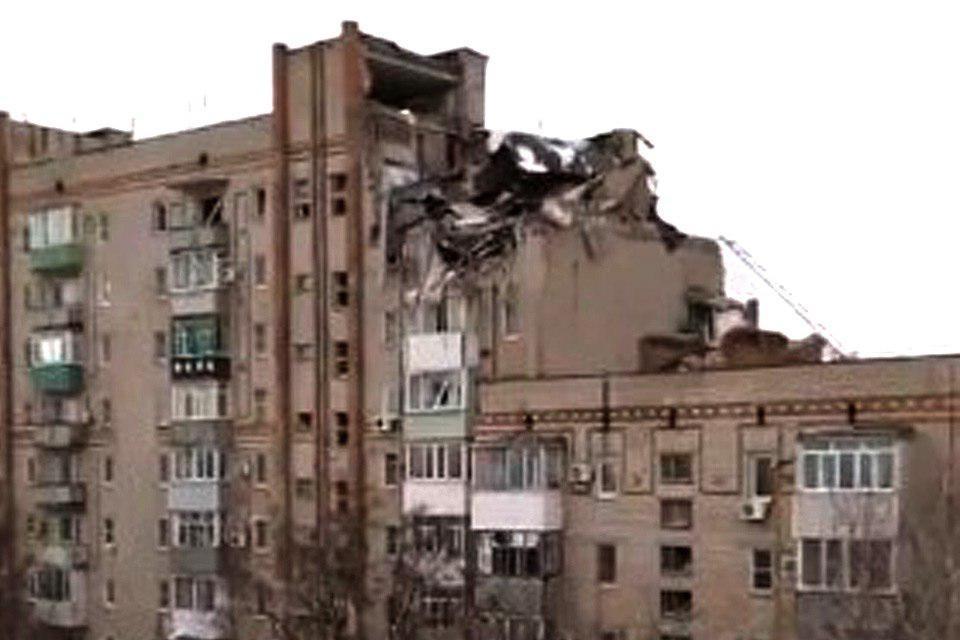 В Ростовской области произошел взрыв бытового газа