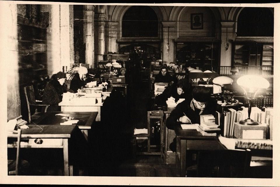 В Российской национальной библиотеке расскажут о подвигах библиотекарей в блокаду. Фото: Пресс-служба РНБ