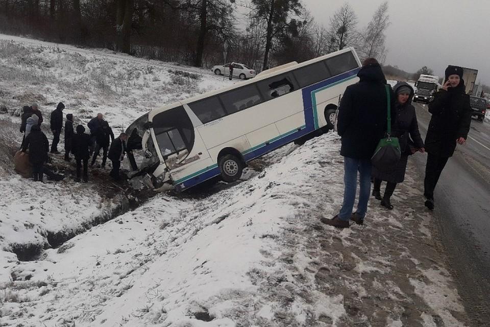 Автобус попал в дтп в калининграде
